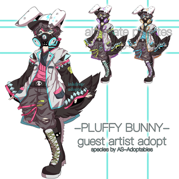[OPEN AUCTION HB:35] Adopt 82: Pluffy Bunny by inkdrop-adopts