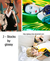 pack j-stocks by glossy-chan