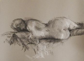 life drawing long pose by stallintheunicow73