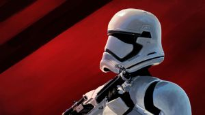 First Order Stormtrooper Study 2 by RobbieMcSweeney