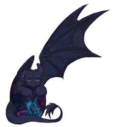 Baby Toothless by Selladorra