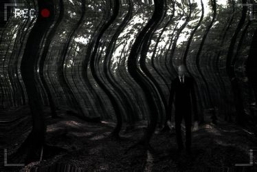 The Slenderman by Dreamviewcreation