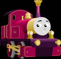 Lady the Magic Engine (Vectored) by Artthriller94