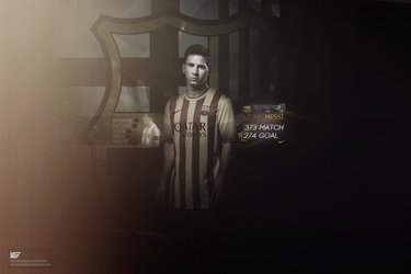 Messi by destroyer53