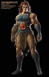 Lion-O - Thundercats pitch Concept by DaveRapoza
