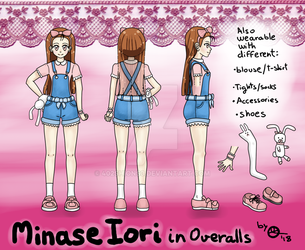 Minase Iori in Overalls (READ the description) by 402ShionS3