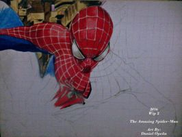 The Amazing Spider-man (Wip 2) by nielopena