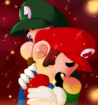 Even Big Brothers Cry by Marios-Friend9