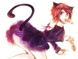 Cat Girl :3 by xMatchii