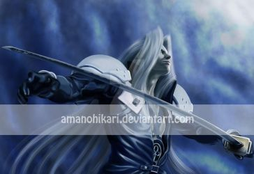 a Sephiroth for John by AmanoHikari