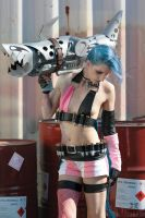 Jinx Cosplay by 2165-4561