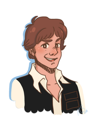 Han Solo by punky-peach