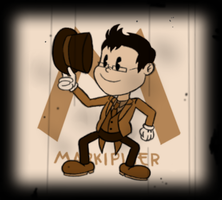 Old Time Cartoon Markiplier by AnimeTimelord