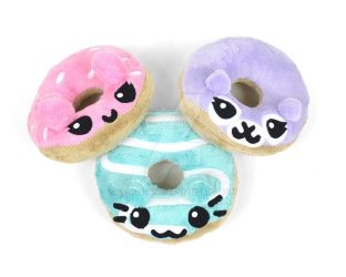 Animal Donut Plush by SewDesuNe