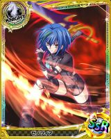 Xenovia in Action! by levantein