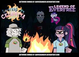 MLP: LEGEND OF EVERFREE REVIEW TCARD by Jarvisrama99