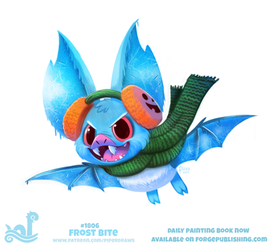 Daily Paint 1806# Frost Bite by Cryptid-Creations