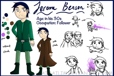 ONAM: Jerome Benson Reference Sheet by MaiMaiLim