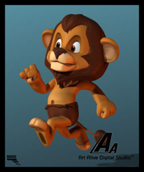 Lion3d by MarcMons007