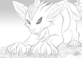 Megaevolution - Leafeon by StampyDragon