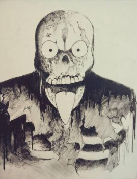 Zombie by vicmancarball