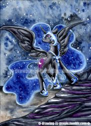 Nightmare Moon by Mana-Kyusai