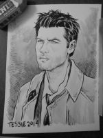 Castiel from Supernatural by TessFowler
