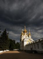 Cloudy Palace 4826478 by StockProject1