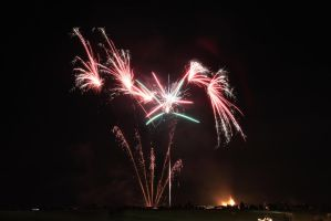 Fireworks over Carnoustie by BusterBrownBB