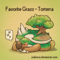 Favorite Grass - Torterra
