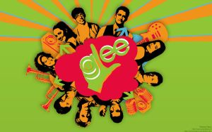 Glee Wallpaper01  wip by MrM0ustache
