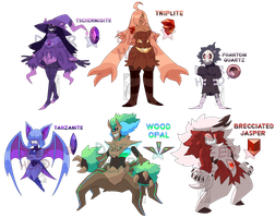 Halloween + Pokemon Gem Adopt Auction (CLOSED)