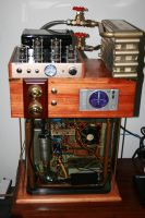 Steampunk PC MKIII by SpamDragon