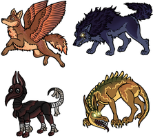 Bunch of dogs for Weremorta by armundy