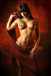 beauty and tattoos , royo by gestiefeltekatze