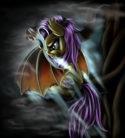 Lurking in the mists by Ferasor