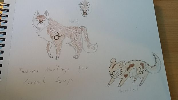 Taurus markings for Cereal Soup by ArhereArtPL