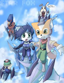 Star Fox by BettyKwong