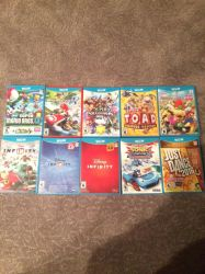 My Wii U Game Collection by AmazingArtist13
