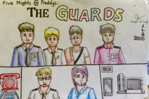 FNAF: The GUARDS by SammfeatBlueheart