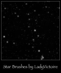 Star Field Brushes by LadyVictoire