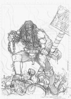 Lobo Pencil by irongiant775