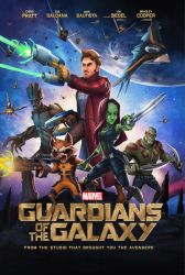 Guardian of the galaxy poster cover by VuBui91