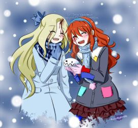 -Christmas Gift 2018- Older!Lucy and Older!Lily by NaughtyKittyDV-1992