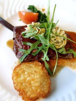 Steak with Herbal Butter by PhilipCapet