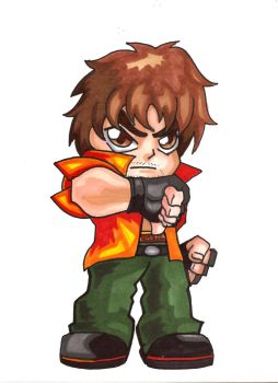 Pocket Fighter - Miguel Caballero Rojo by fastg35