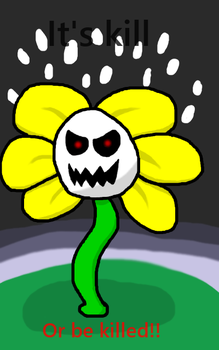 Flowey by RichardtheDarkBoy29