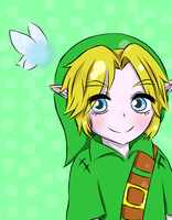 Link And Navi by RoseOfDarkness2