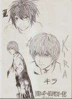 Death note -Light and L by tomgirl227