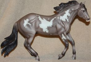 Breyer - Platinum Star - Stock by Lovely-DreamCatcher